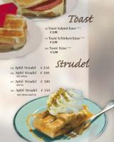 Strudel und Toast