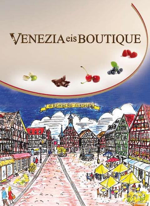 Venezia eis Boutique Speisekarte2019