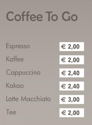 Venezia Eis Boutique Coffe to go